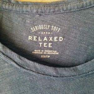 Aeropostale Tops - Relaxed Pocket TShirt in Blue